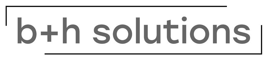 b+h solutions e.K.-Logo